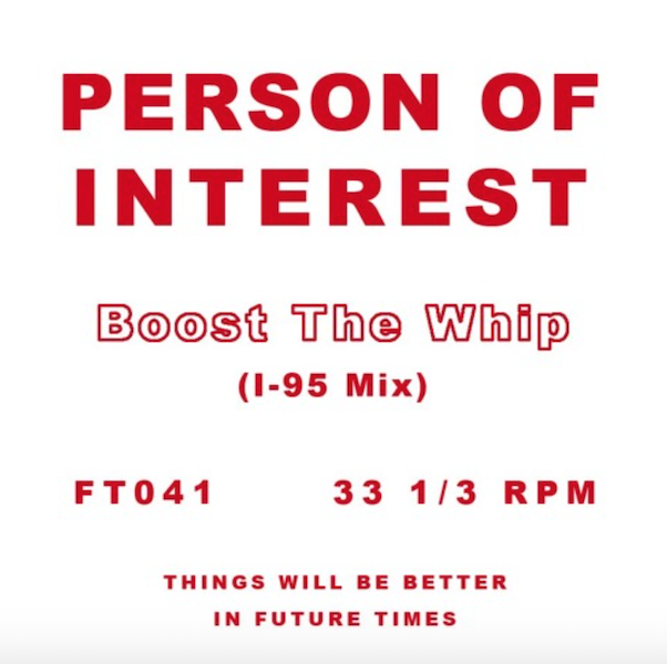 Test Pressing, Dr Rob, Future Times, Person Of Interest, Boost The Whip