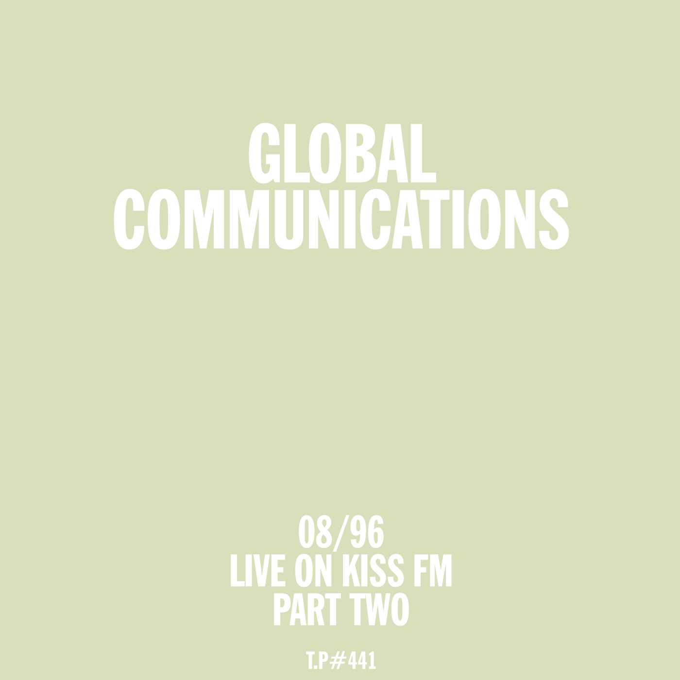 Global Communications, Givin' It Up, Kiss FM, 1996, August, Radio Show, Gold