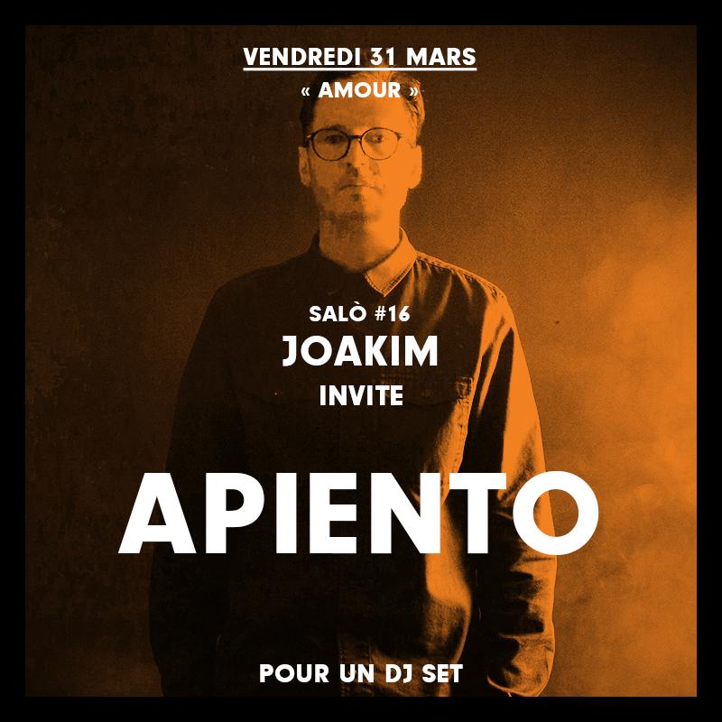 Salo, 31 March 2017, Apiento, Justin Strauss, Gilb'r, Max Pask