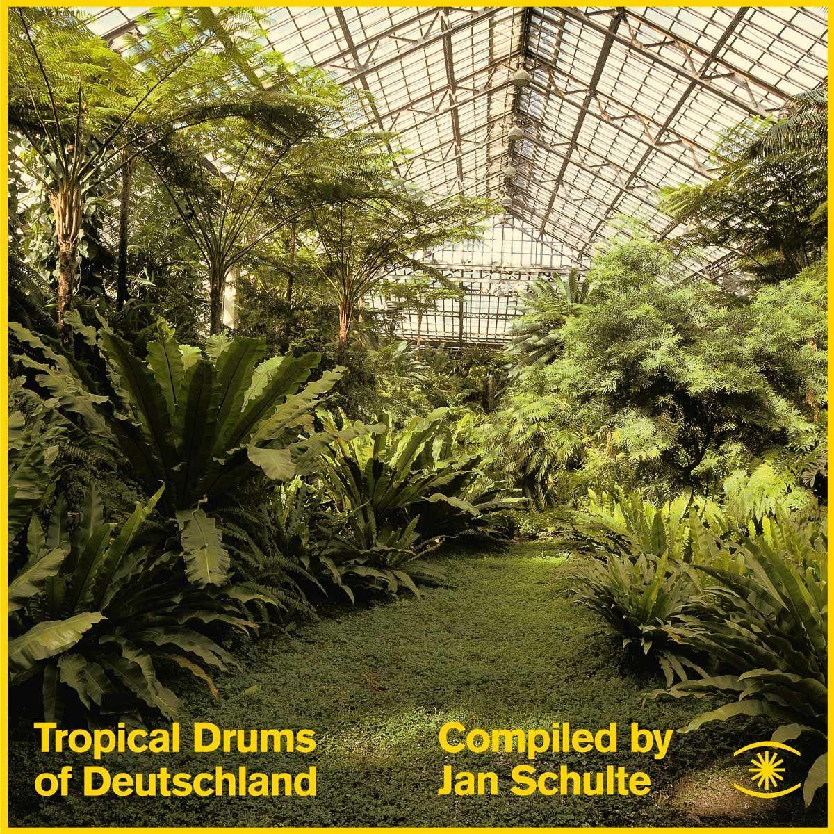 Jan Schulte, Tropical Drums Of Deutschland,  Test Pressing, review,