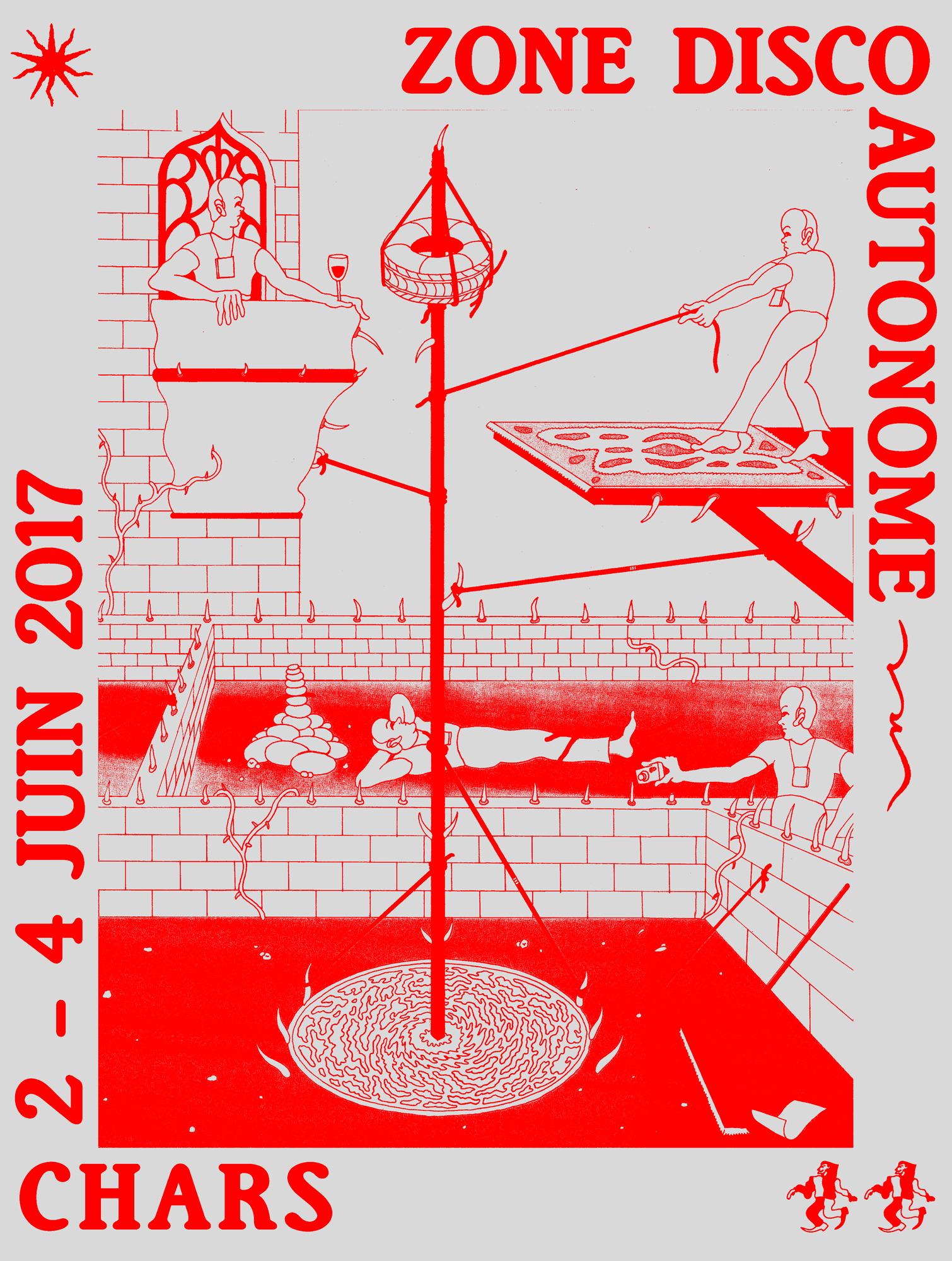 Zone Disco Autonome, festival, France, June, 2017, Test Pressing