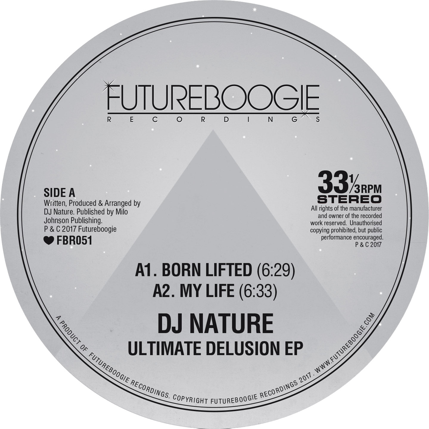 DJ Nature, Ultimate Delusion, EP, Test Pressing, Review