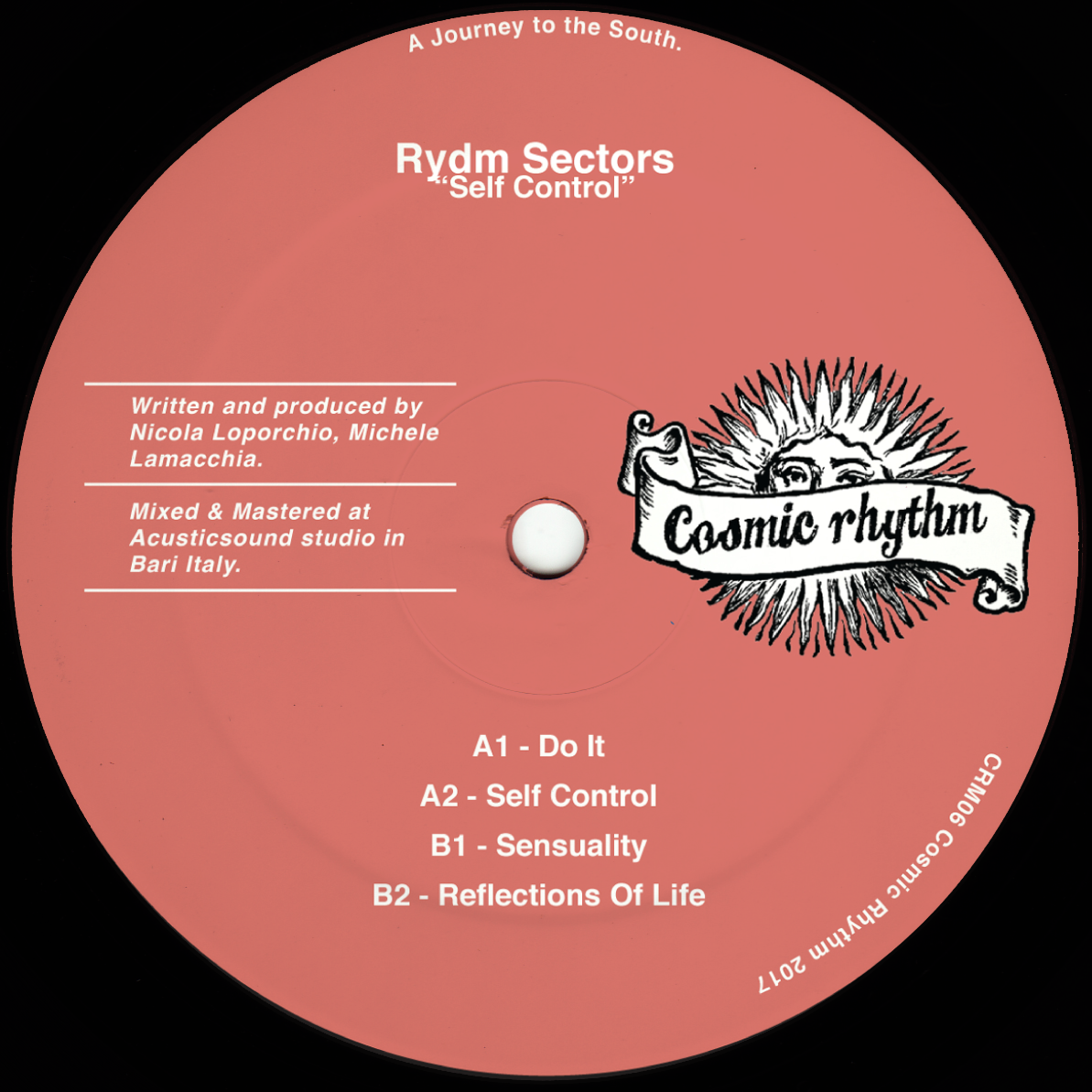 Cosmic Rhythm Records, Rhythm Of Paradise, Label, Italy, House, Test Pressing, Cosmic Garden, Spiritual Emphasi, Loss Of Gravity, KGB, Rydm Sectors