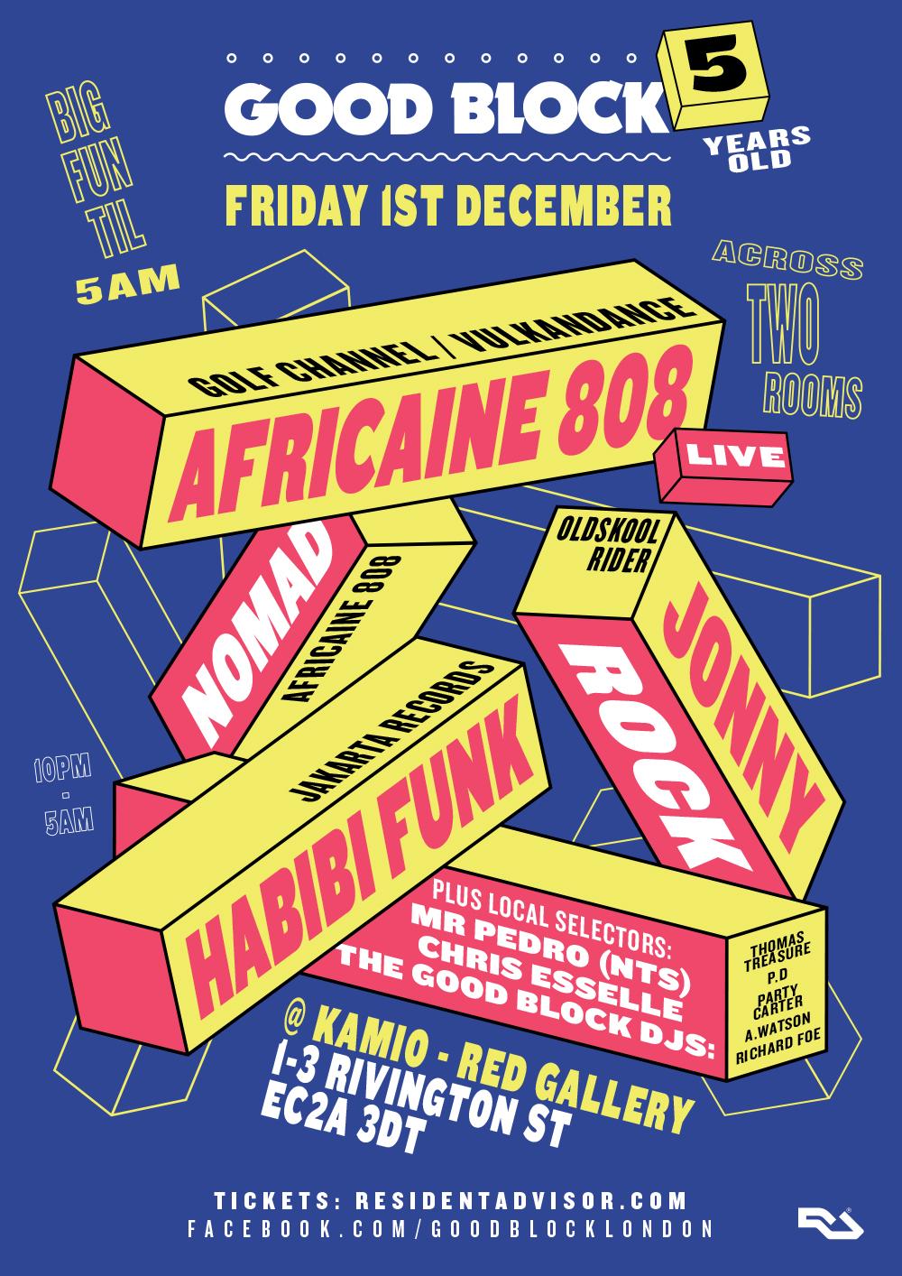 Good Block, Jonny Rock, Africaine 808, Habibi Funk