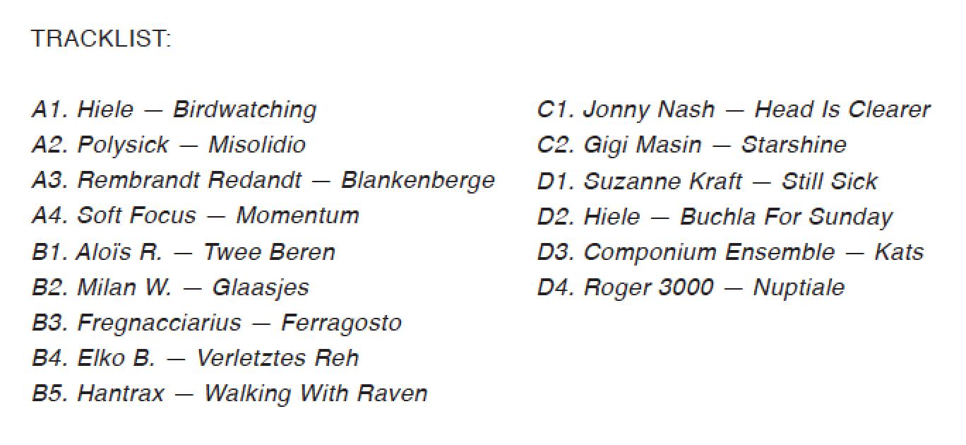 EX03, track listing