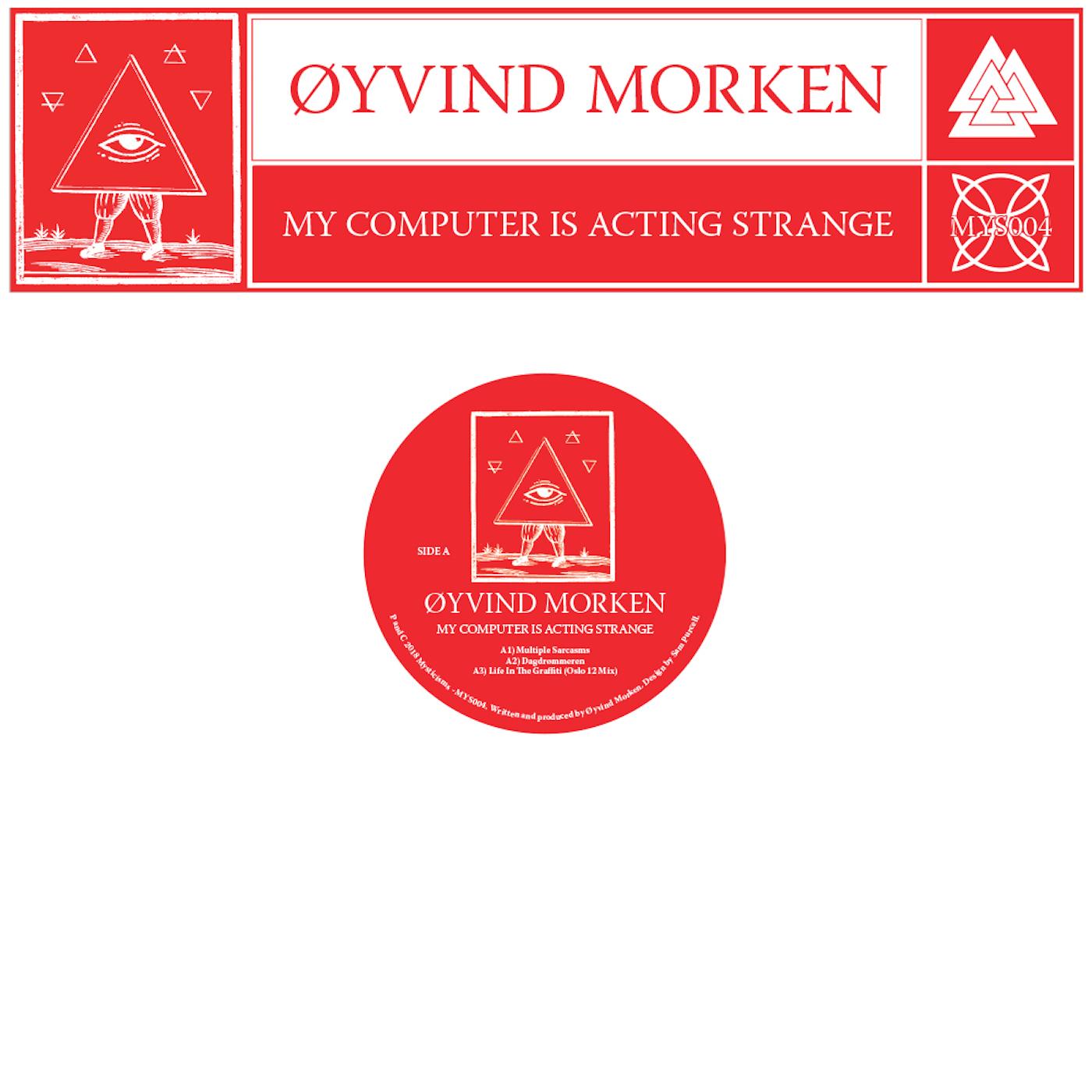 Øyvind Morken, My Computer Is Acting Strange, EP, Mysticisms, Review, Test Pressing