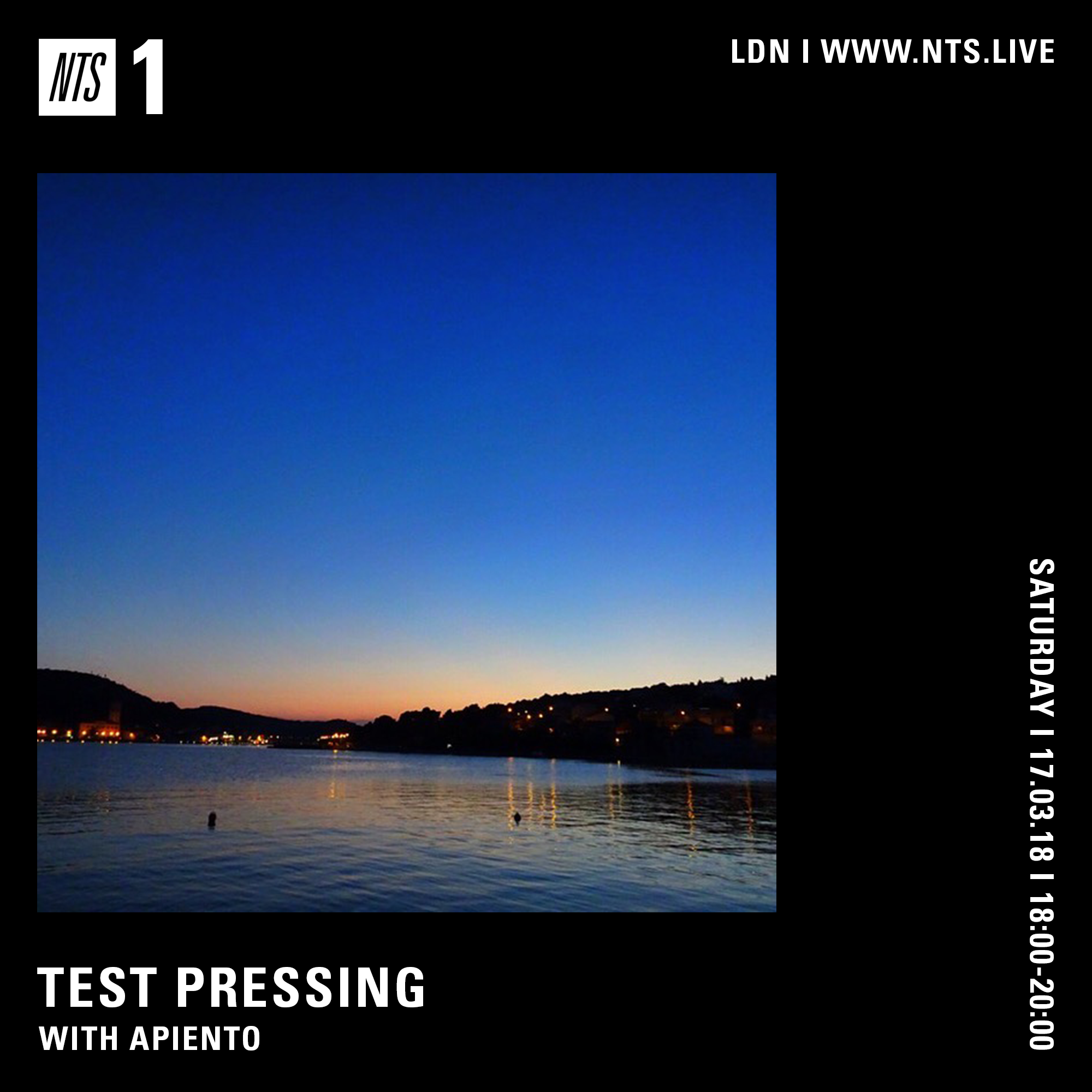 Test Pressing, NTS, March, 2018, Mix