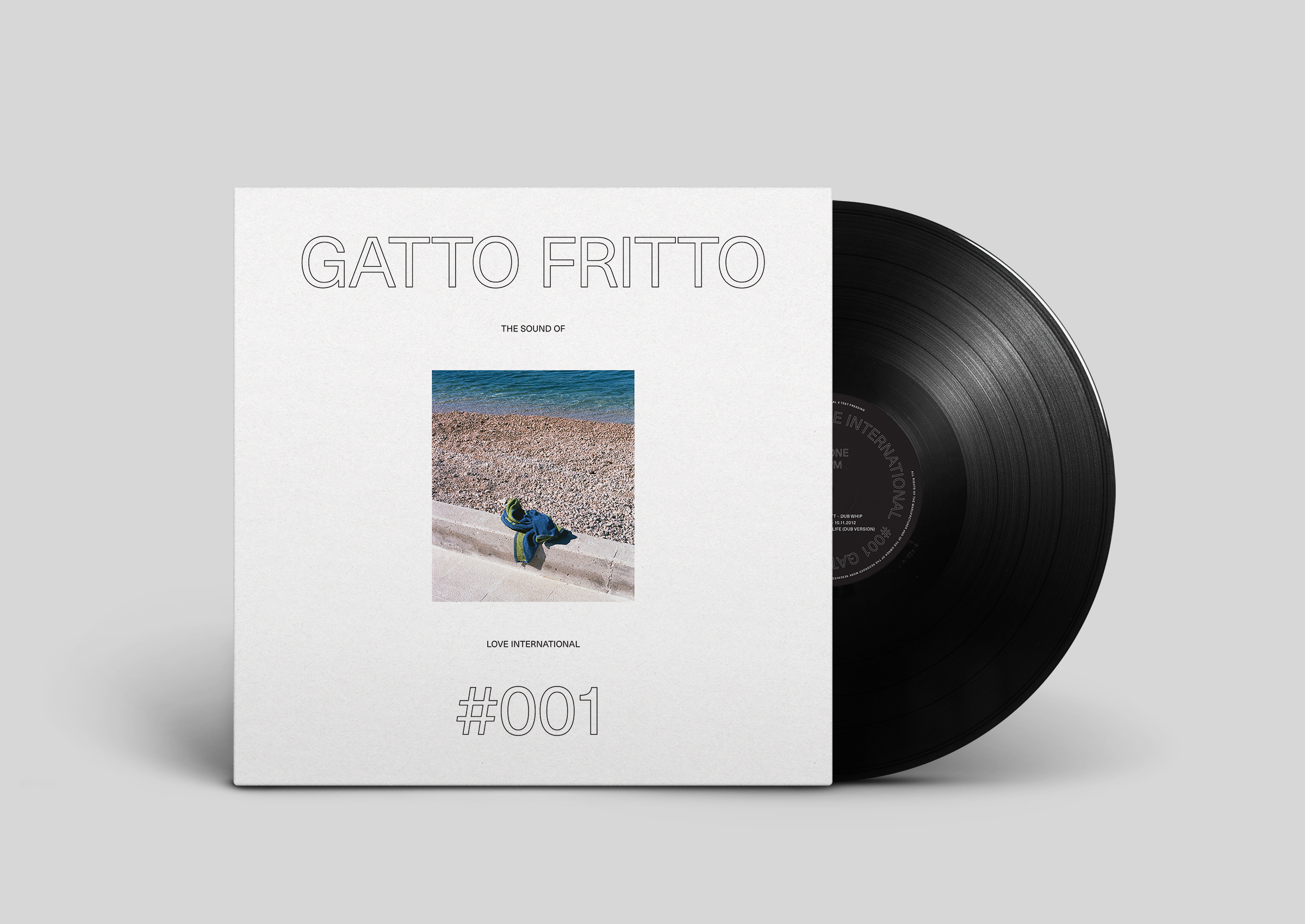 The Sound Of Love International, Gatto Fritto, 001, Test pressing, Love International, Compilation,