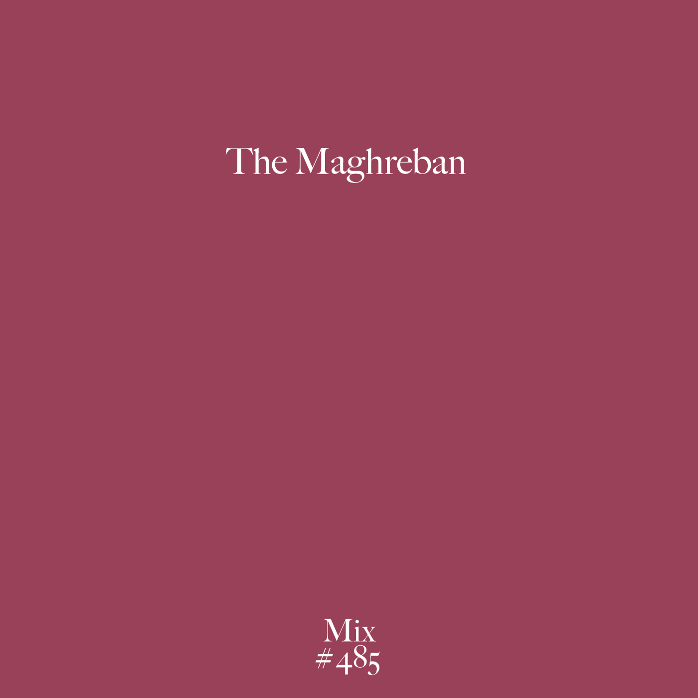 The Maghreban, Mix, Test Pressing, R&S Records, Breaks, Banging, Rave