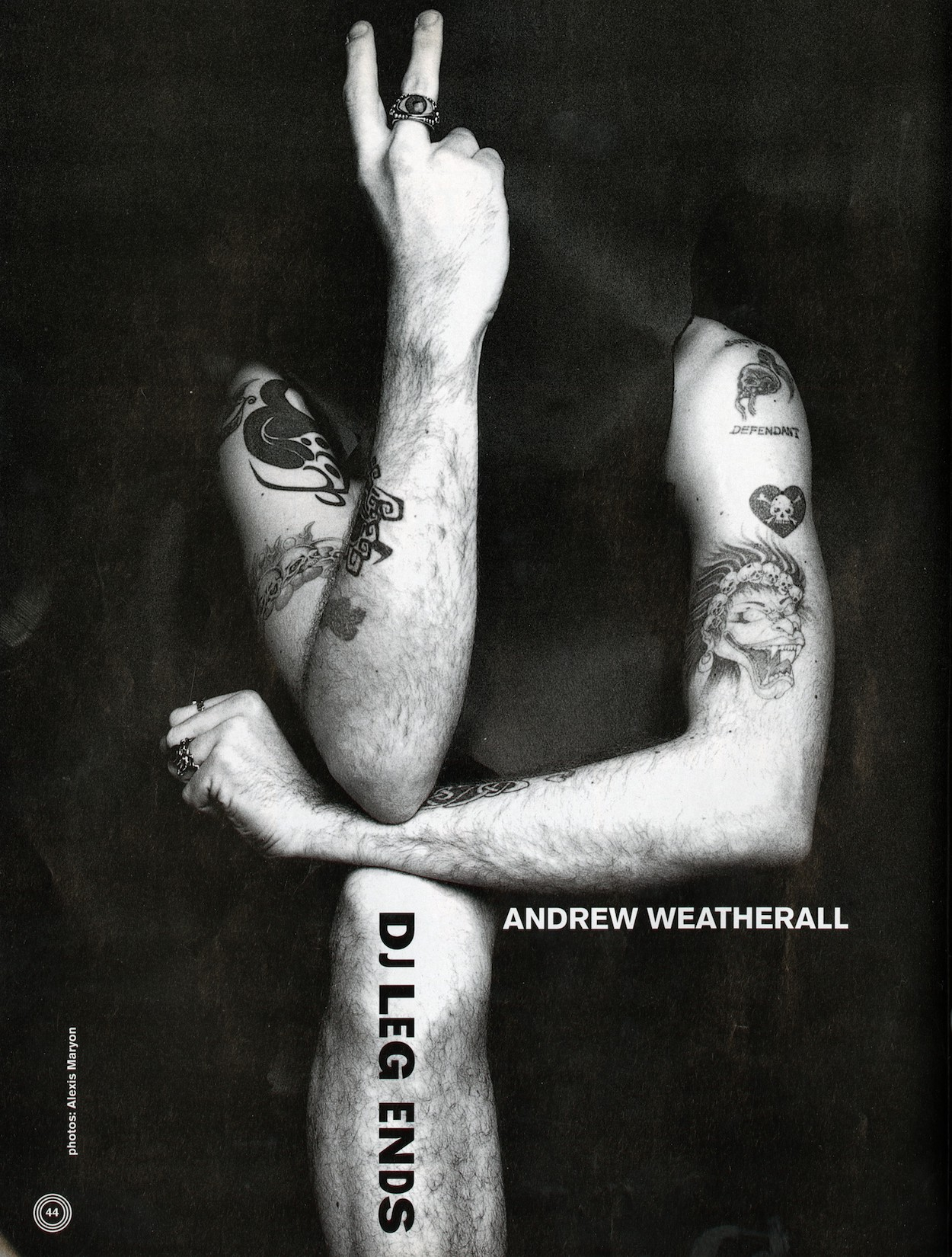 Andrew Weatherall, DJ, Interview, 1992, Mixmag, Boy's Own,