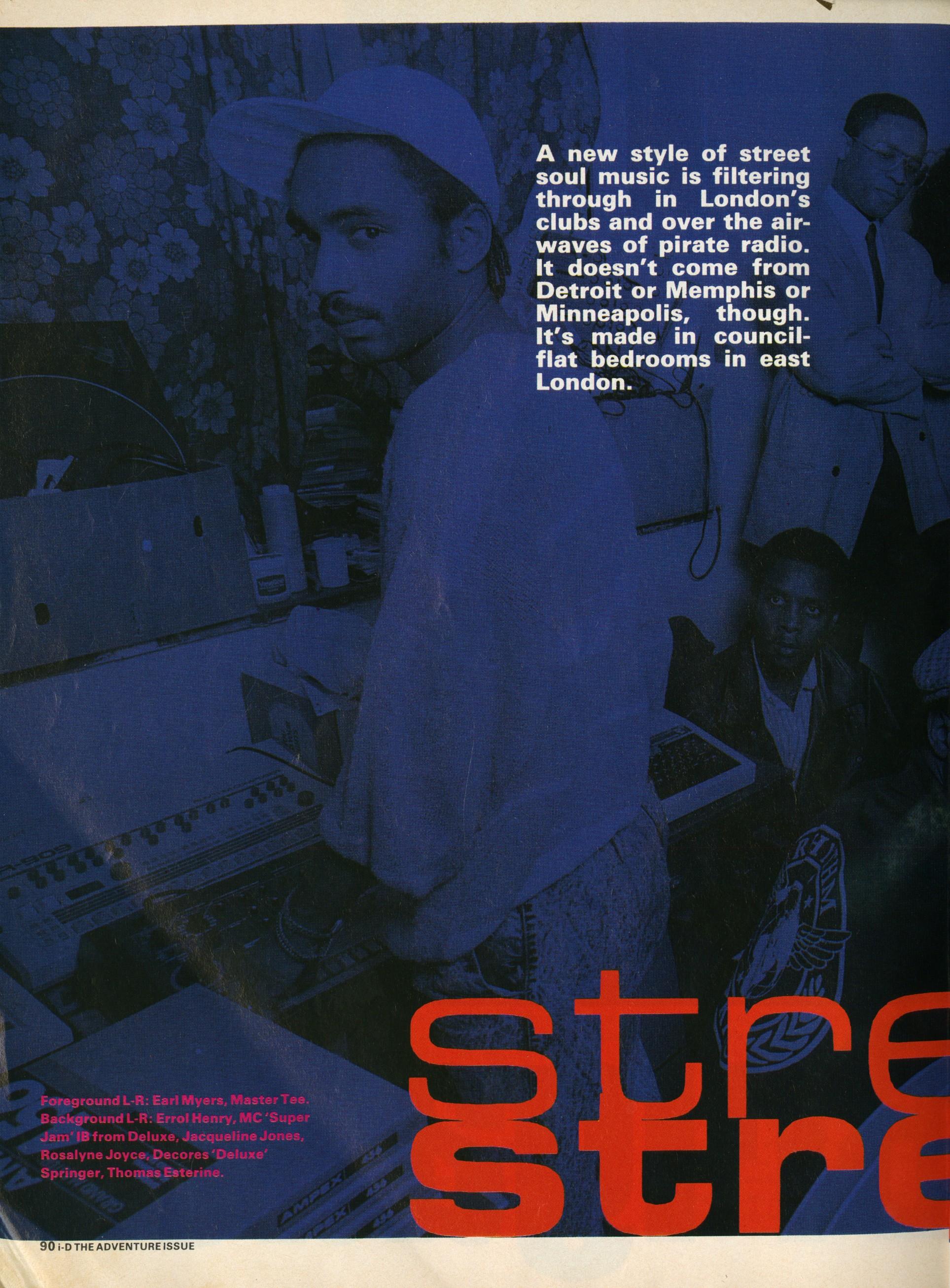 words, Simon Goffe, Photography, Simon Durrant, i-D, August, 1988